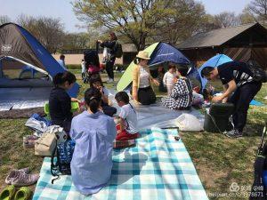 母語教室の春のイベント